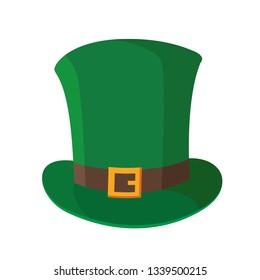 St. Patrick's Day cap illustration