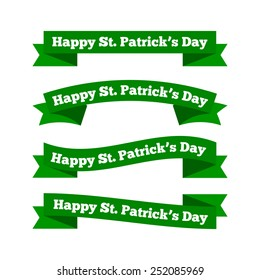 St patrick's day ribbons