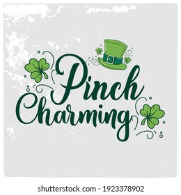 St Patrick's day vector design for T shirt or other uses.