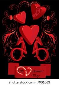 St. Valentine's Day postcard