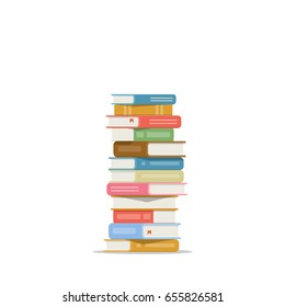 Pile Livres Stock Vectors Images Vector Art Shutterstock
