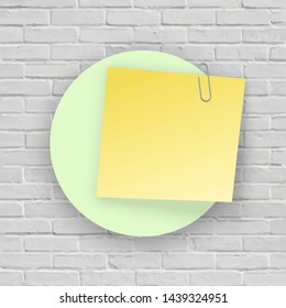 Blank Board Brick Notice Images Stock Photos Vectors