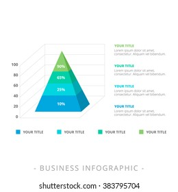 Stacked Pyramid Chart Template 1