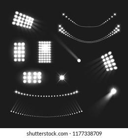 Stadium Lights Set