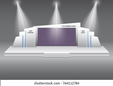 Stage LED performance vector