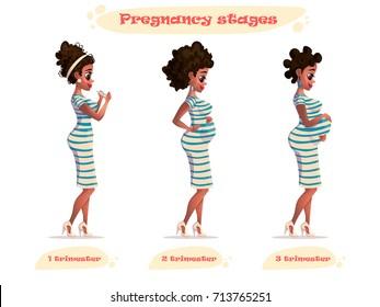 Pregnant Cartoon Images, Stock Photos & Vectors