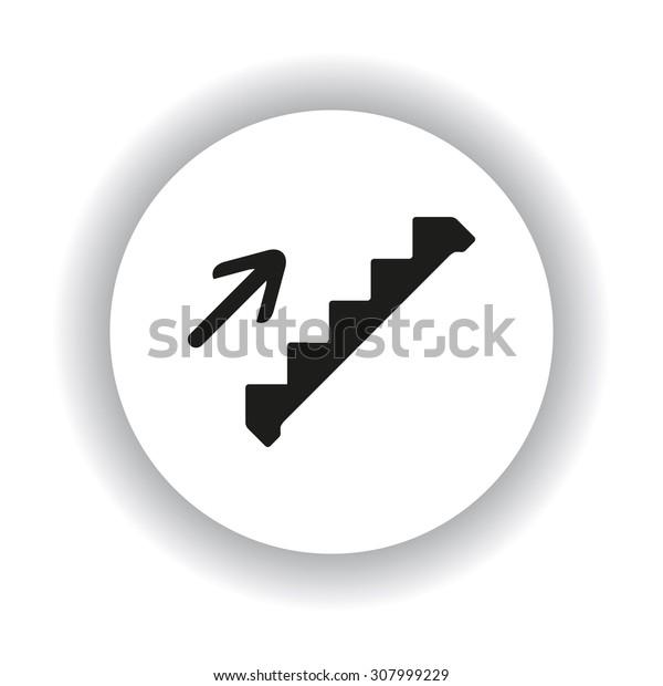 staircase. icon. vector design