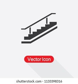 Stairs Icon Vector Illustration Eps10