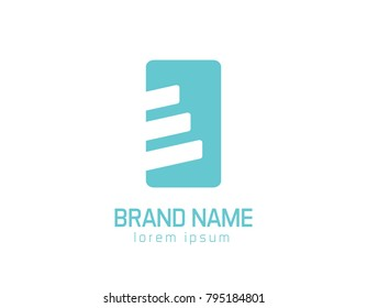 stairs logo illustration