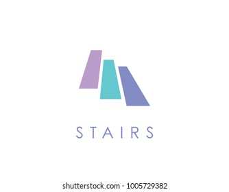 Stairs logo simple