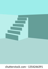 Stairs to the pool