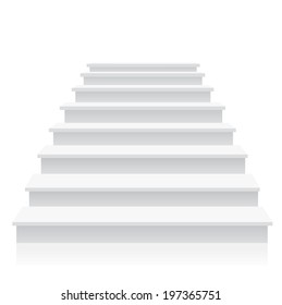 Stairs Vector.