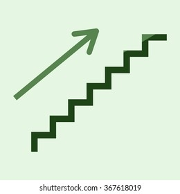 stairs - vector icon