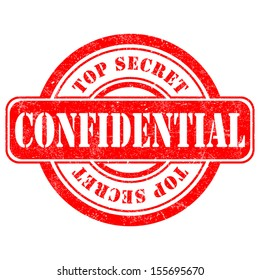 Stamp of Confidential VECTOR