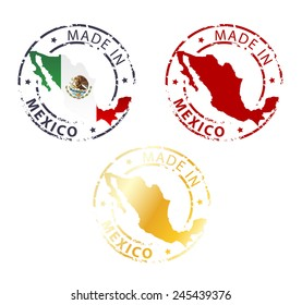 Stamp Made in Mexico