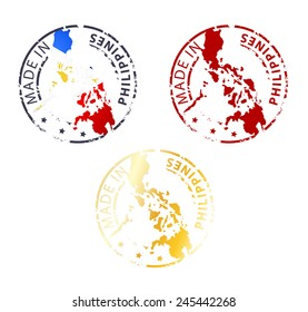 Stamp Made in Philippines