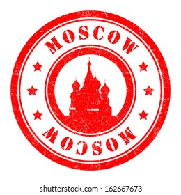 Stamp: Moscow