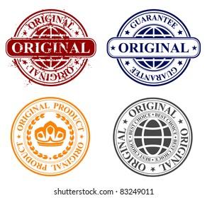 stamp - original product