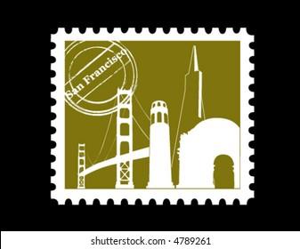 Stamp, San Francisco