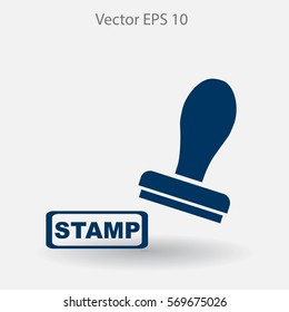 stamp vector icon