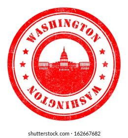 Stamp: Washington