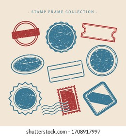 Stamps design collection - vector