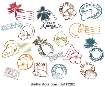 Stamps to The Tropics