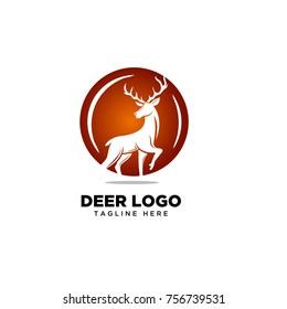 Stand Circle deer logo