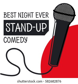 Stand up comedy concept