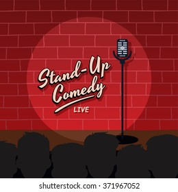 stand up comedy stage live show