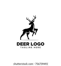 Stand deer logo