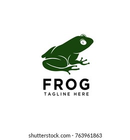 Stand frog logo