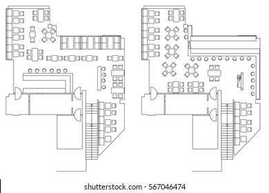 Office Floor Plan Images Stock Photos Vectors Shutterstock