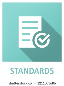 STANDARDS ICON CONCEPT