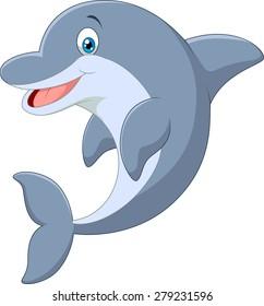 dolphin cartoon images stock photos vectors shutterstock rh shutterstock com dolphin pictures cartoon images dolphin fish cartoon images