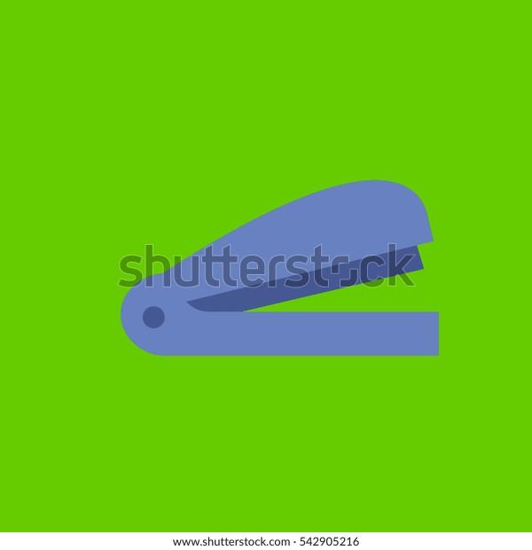stapler icon flat disign