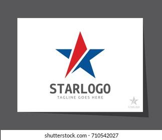 star american logo icon vector template
