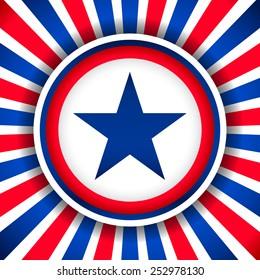 Star Badge background image