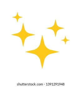 Star Blink icon .Vector illustration. Flat design for business financial marketing banking advertising web concept cartoon illustration.