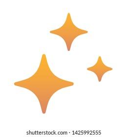 Star Blink Illustration Icon Vector