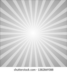 star burst background. Centric sunburst vector, Sun burst retro texture. Flat line rays illustration. Shiny template for your design - Vector
