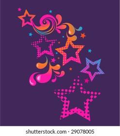 Star Burst illustration
