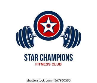 Star Champions Logo Template