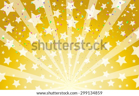 star confetti background stock vector royalty free 299134859