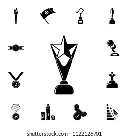 Star Cup icon. Detailed set of Sucsess and awards icons. Premium quality graphic design sign. One of the collection icons for websites, web design, mobile app on white background