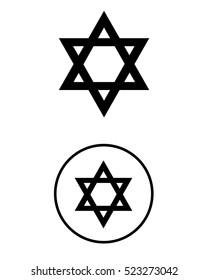 Star of David Symbol Set
