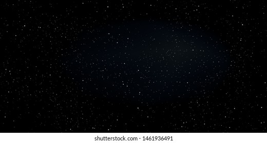 Star in deep universe. Abstract space background. Vector illustration.