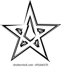 Star Design Vector Illustration