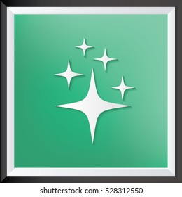 Star design,clean vector