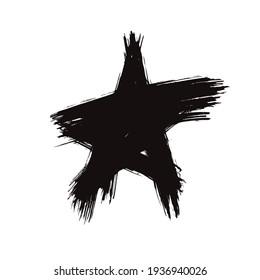 star grunge vector illustration design